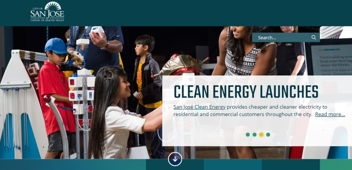 A sneak peek: San Jose City Hall unveils its new six-figure website