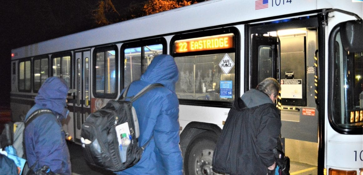 A night on Route 22: 'Homeless riders' fear loss of overnight bus