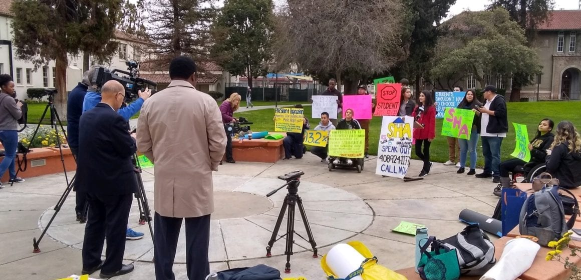 San Jose lawmakers send letter to end SJSU homelessness