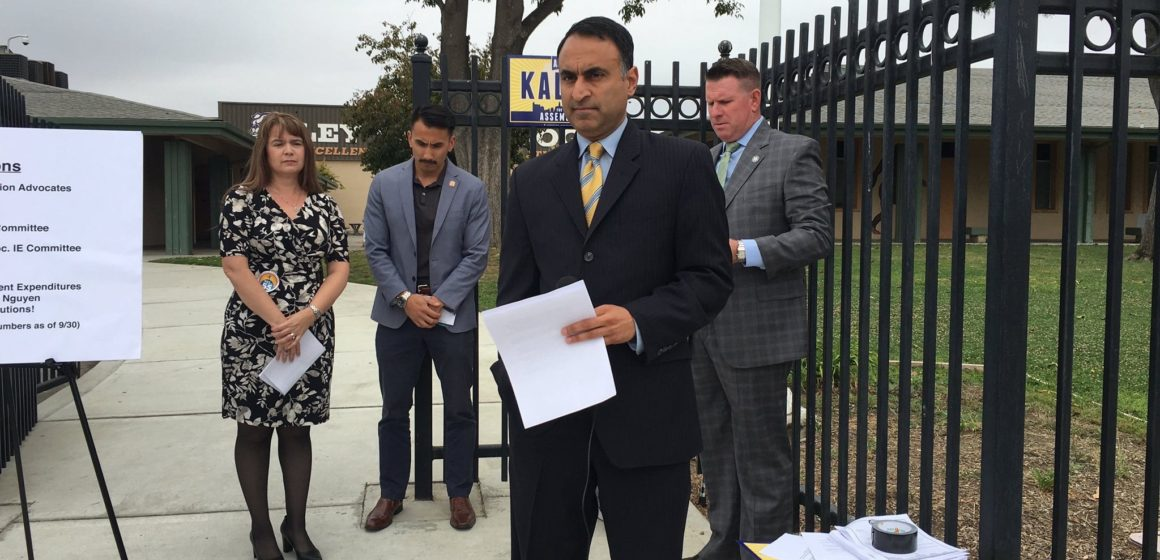 Ash Kalra proposes law to put vote centers on college campuses