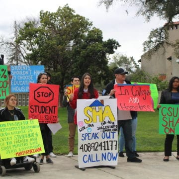 SJSU President denies students' requests for homeless support