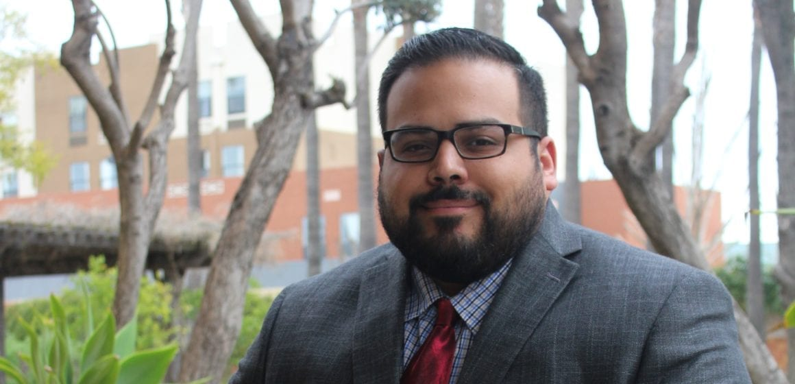 Peter Ortiz brings personal experience to education role
