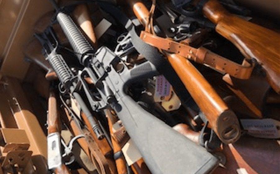 Santa Clara County law enforcement have taken 6,000 guns off streets