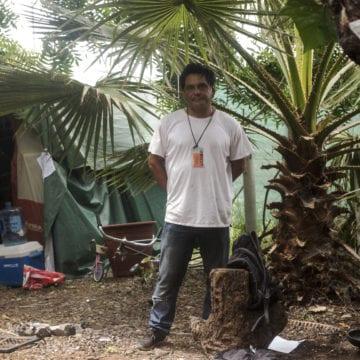 San Jose: Homeless Hope Village residents return to dismantled encampment