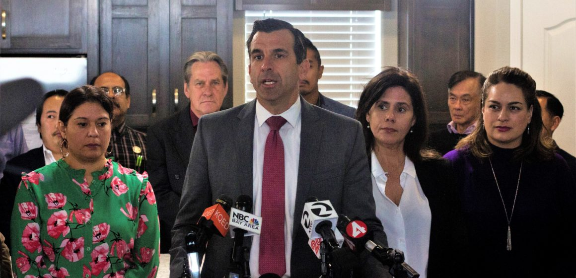 Mayor Sam Liccardo failed to disclose property near Google development