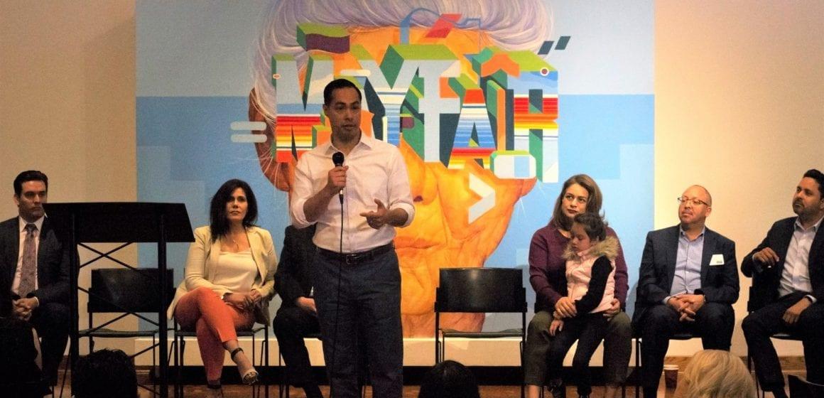 Presidential hopeful Julián Castro talks immigration, education during San Jose stop