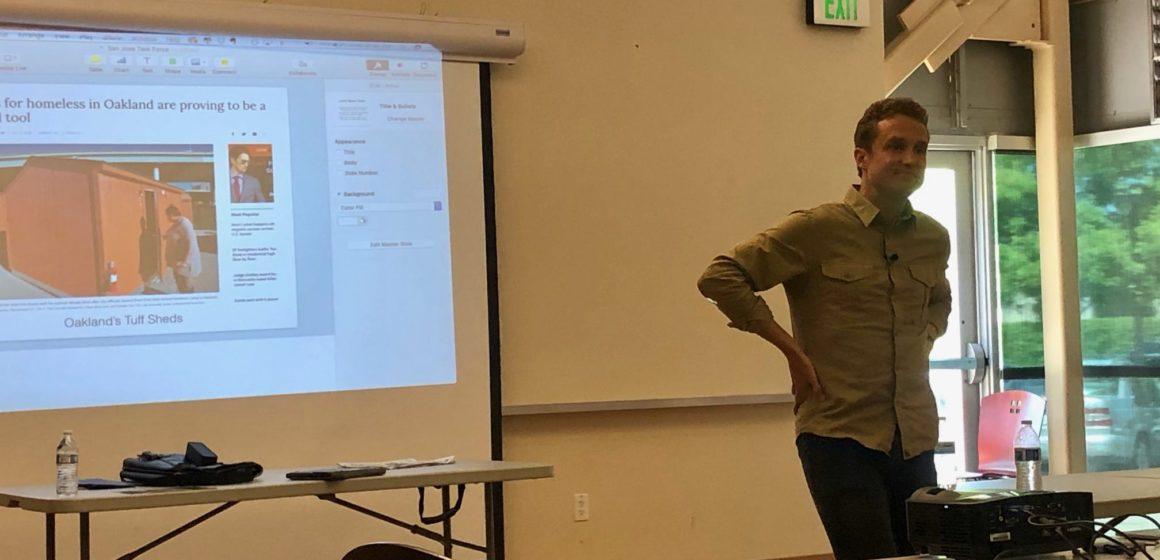 UC Berkeley scholar talks Silicon Valley homeless solutions
