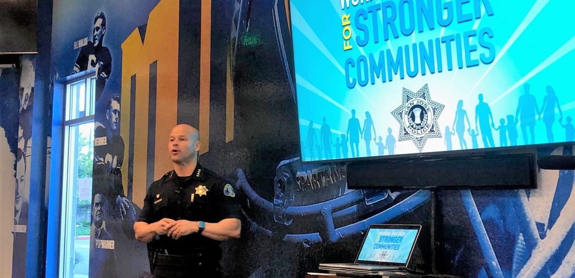 San Jose police chief pushes for more trust with minorities
