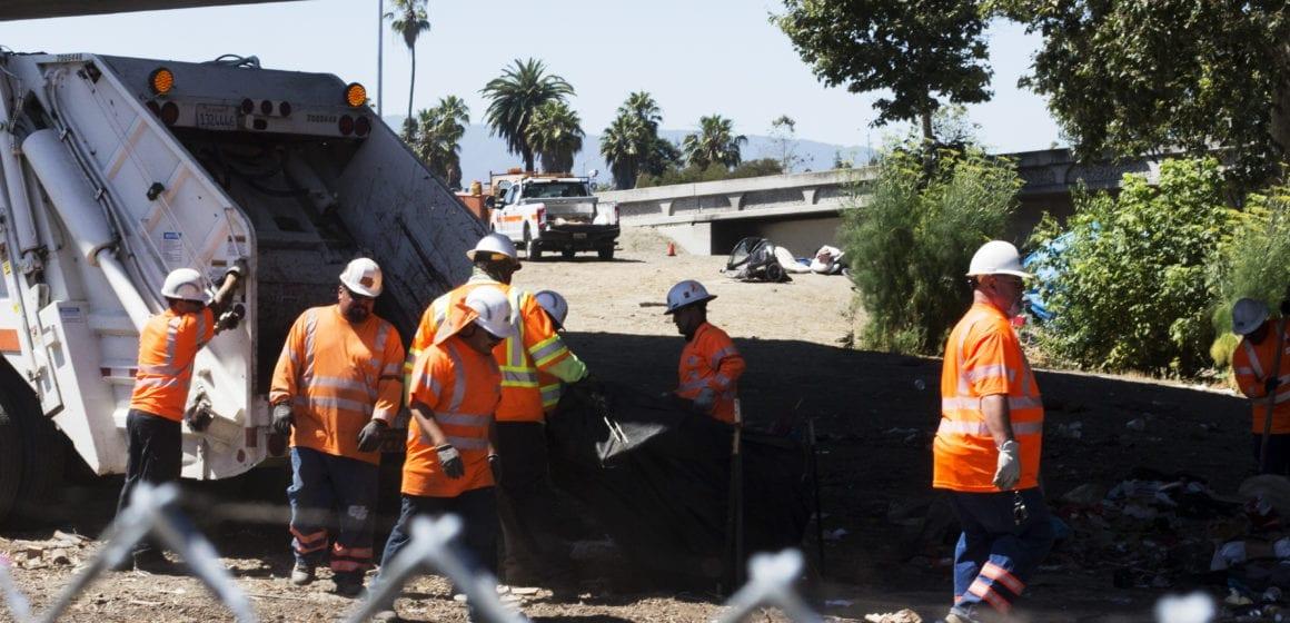 San Jose's 'cleanest' homeless encampment swept away