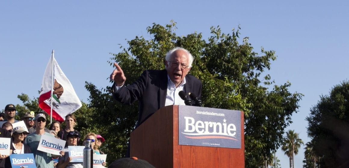 A day after Virginia Beach shooting, Bernie Sanders pushes gun control in San Jose stop