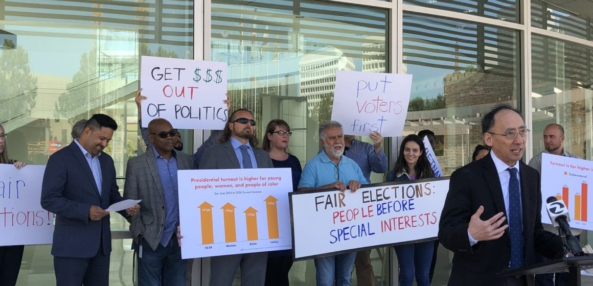 San Jose measure to shift mayoral elections moves forward