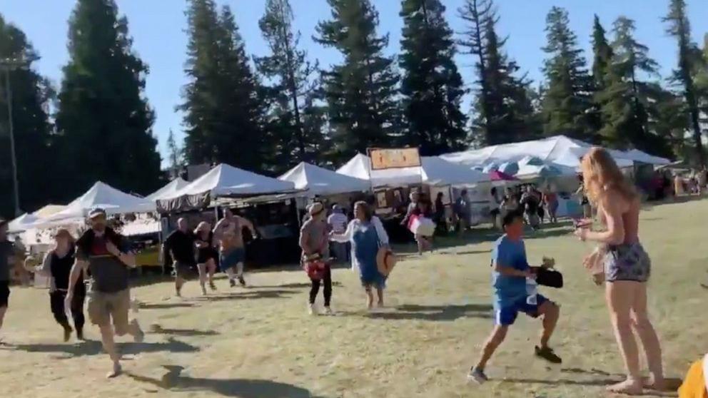 Chụp lễ hội tỏi Gilroy: Ủy viên hội đồng San Jose bỏ trốn giữa những tiếng súng