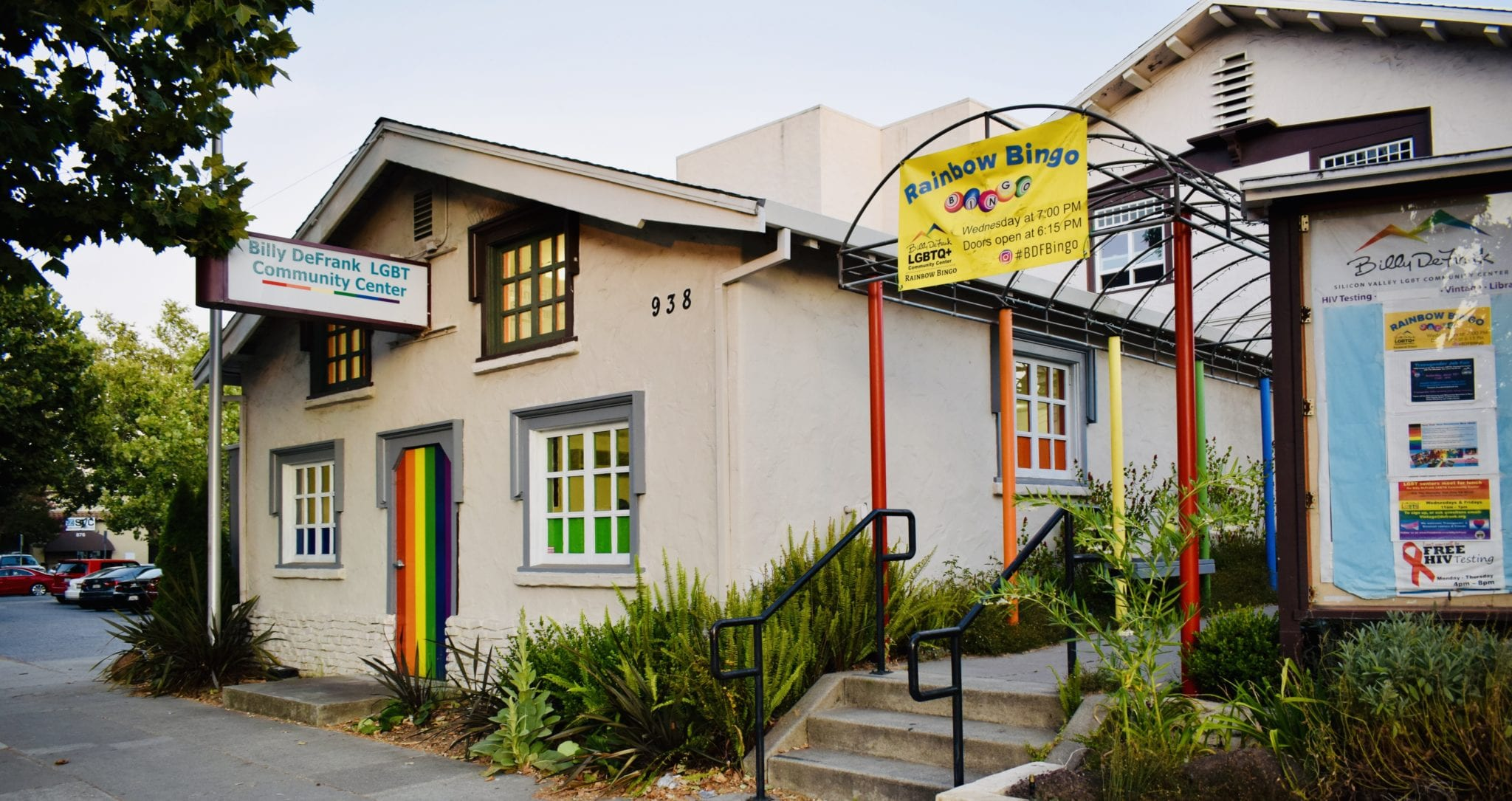The Billy DeFrank LGBTQ Community Center on The Alameda in San Jose. Photo by Adam F. Hutton.