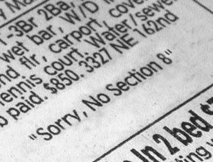 Bramson: Voucher discrimination is just another closed door