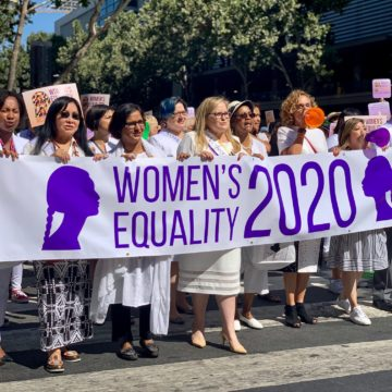 Downtown San Jose rally celebrates women's history, push for equality