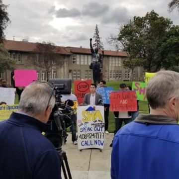 San Jose State activists amplify the call to house homeless students