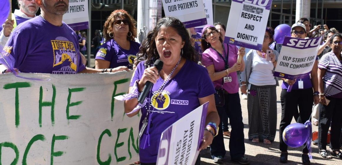 UPDATE: Santa Clara County workers back on strike