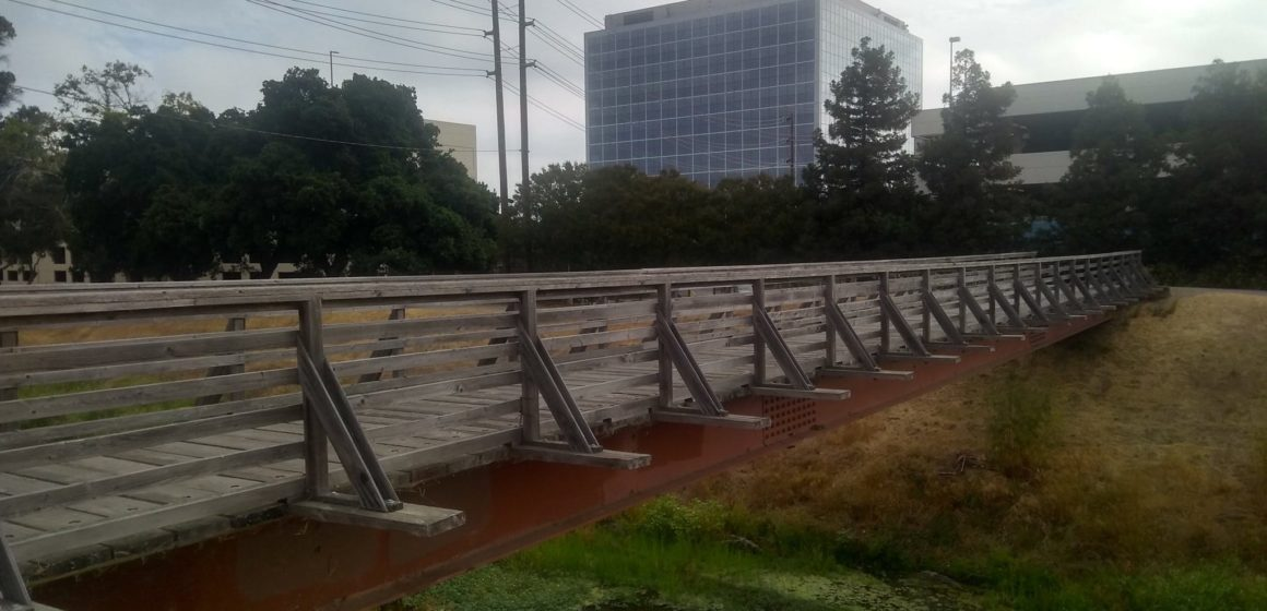 The end of the road for Santa Clara's Freedom Bridge in sight