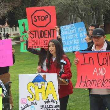 San Jose State University housed just six homeless students last year