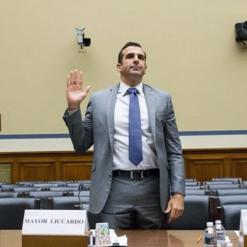 On Capitol Hill, San Jose Mayor Sam Liccardo talks PG&E outages, clean air