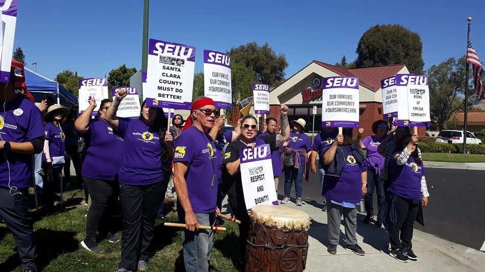 Celaya: Why I support the Santa Clara County SEIU 521 strike