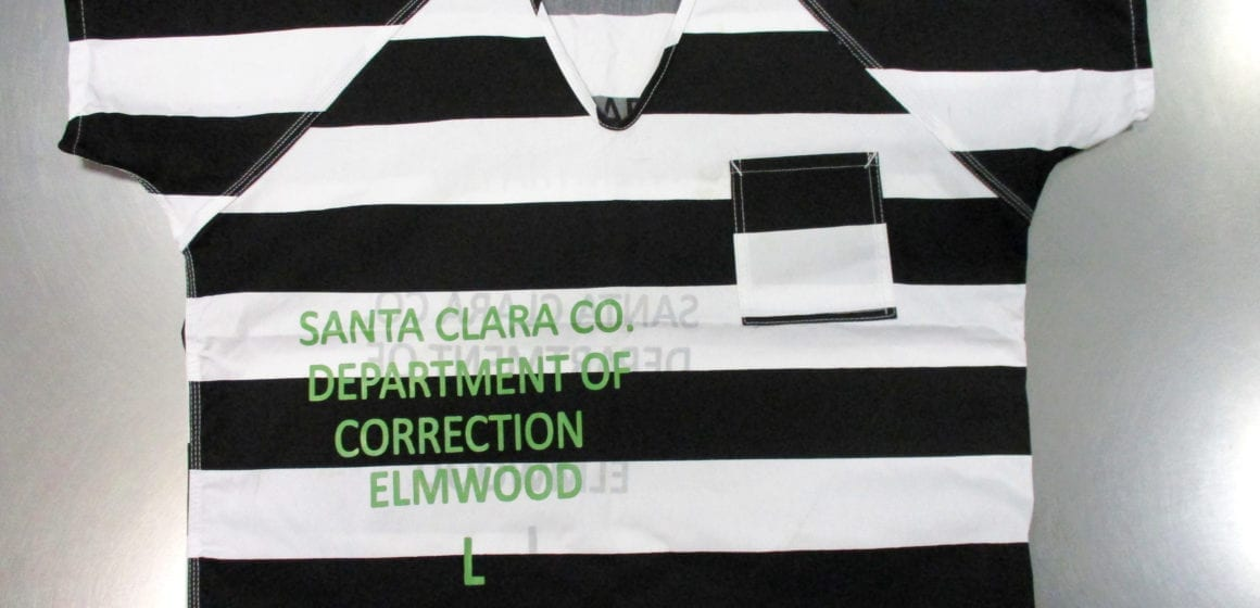 One Santa Clara County jail could get rid of 'prison stripes' uniforms