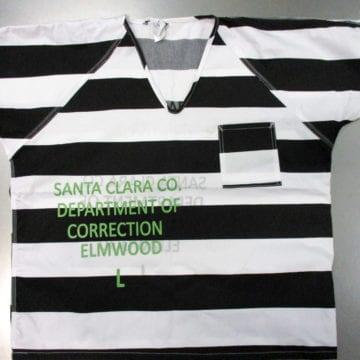 Một nhà tù ở Hạt Santa Clara có thể loại bỏ đồng phục 'sọc tù'