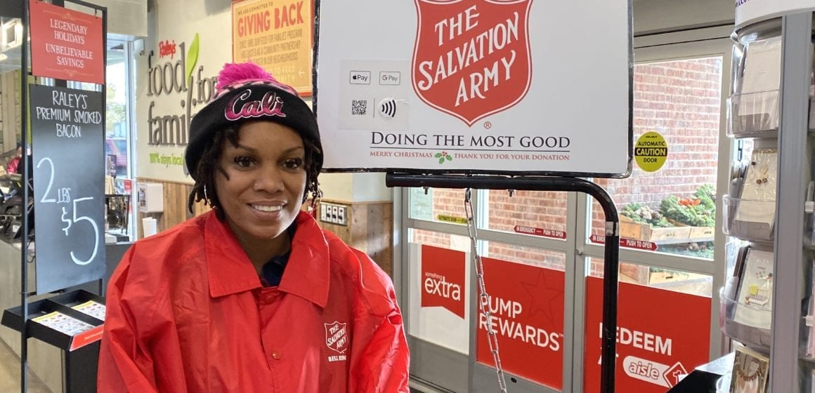 In Silicon Valley fashion, Salvation Army red kettles tap into electronic donations