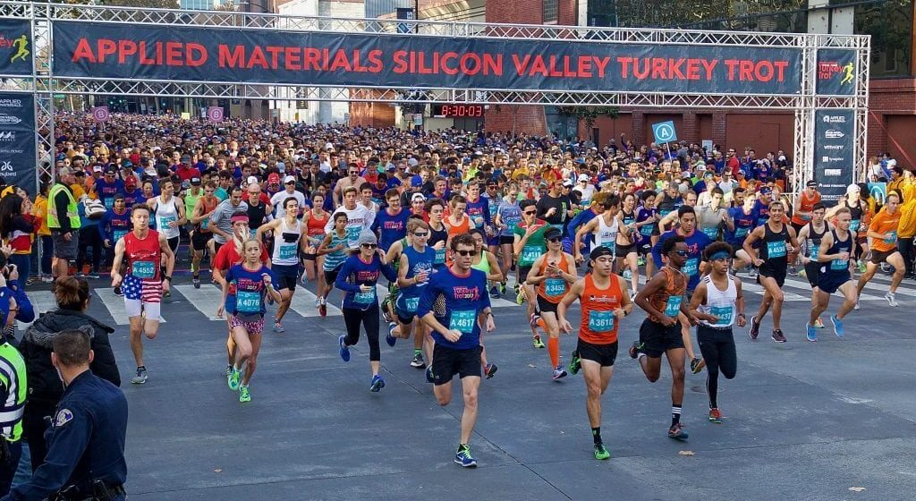 Silicon Valley Turkey Trot returns for its 15th year