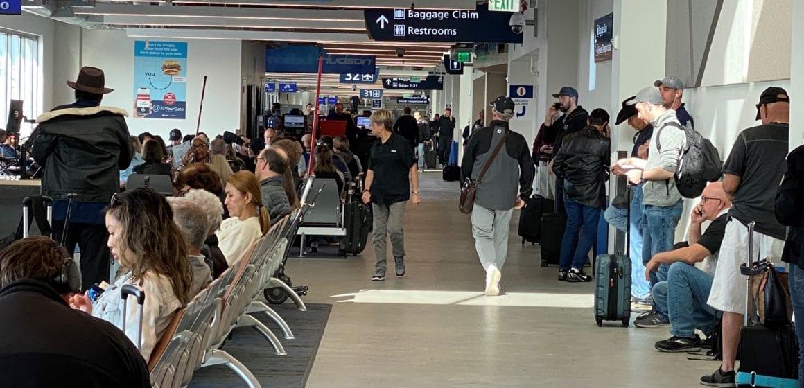 San Jose International Airport's busiest travel season hits