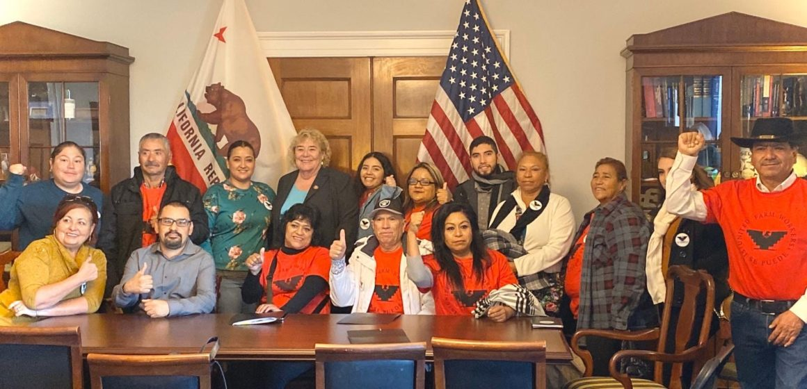 Zoe Lofgren's bill to provide green cards to undocumented farmworkers passes House
