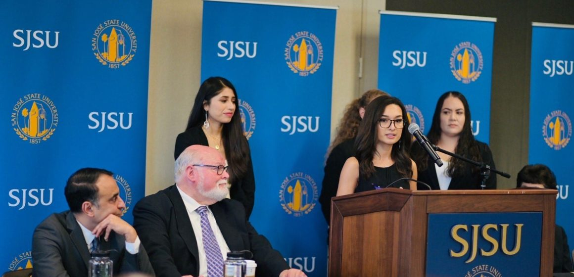 SJSU students look to Sacramento to help low-income students