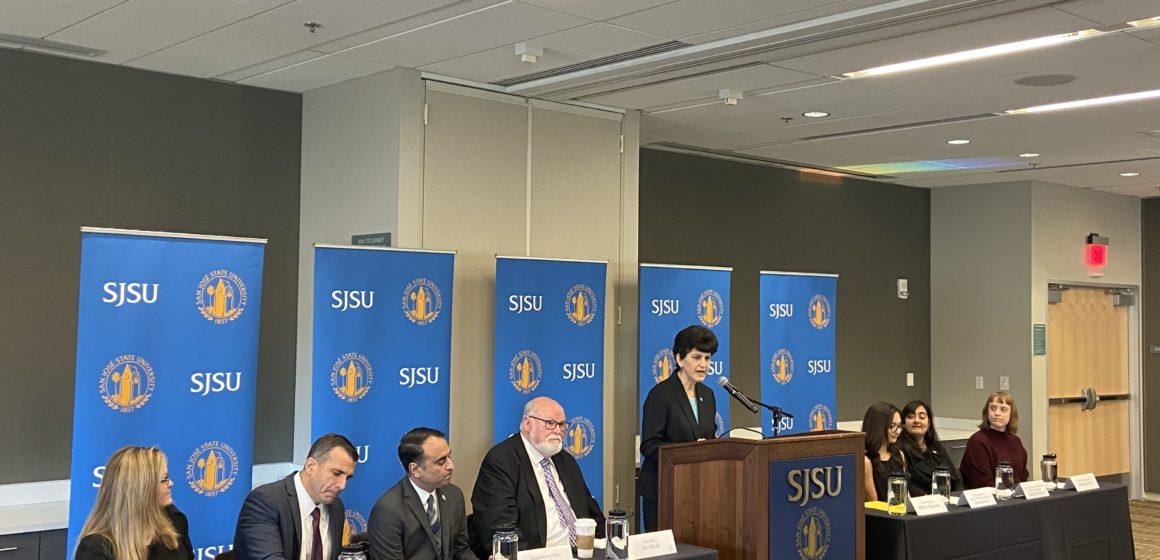 San Jose State University president resigns