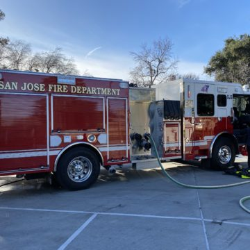 San Jose firefighters unveil new life-saving truck