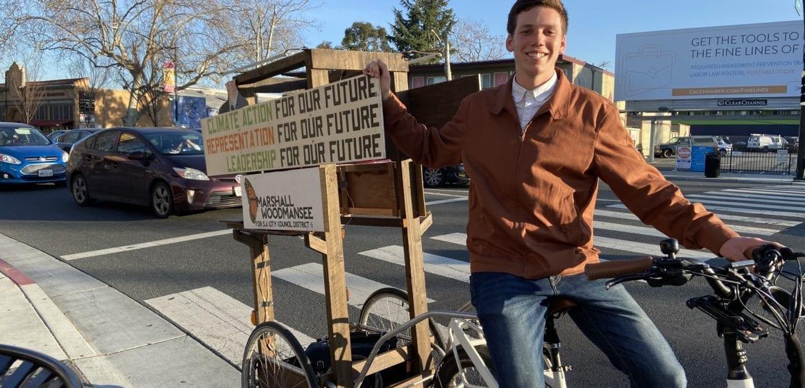 Marshall Woodmansee trabaja para motivar a los jóvenes en su camino hacia la votación