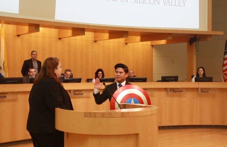 Lan Diep lucha por otros cuatro años en el consejo de San José
