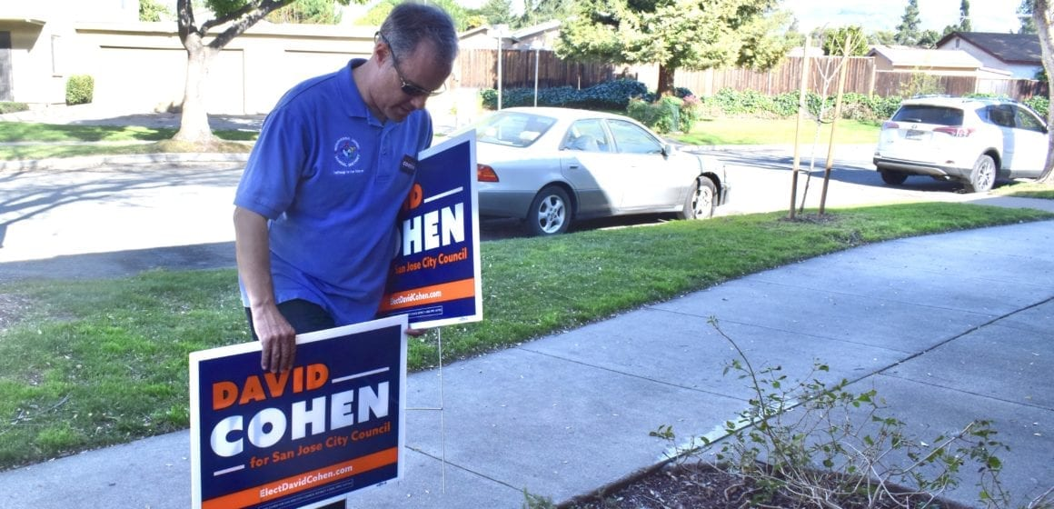 David Cohen touts community roots in San Jose council campaign