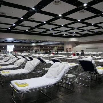 Mire adentro: el Centro de Convenciones de Santa Clara está configurado para 250 pacientes con COVID-19