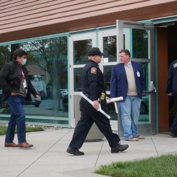 Santa Clara Convention Center en transición a un hospital federal temporal