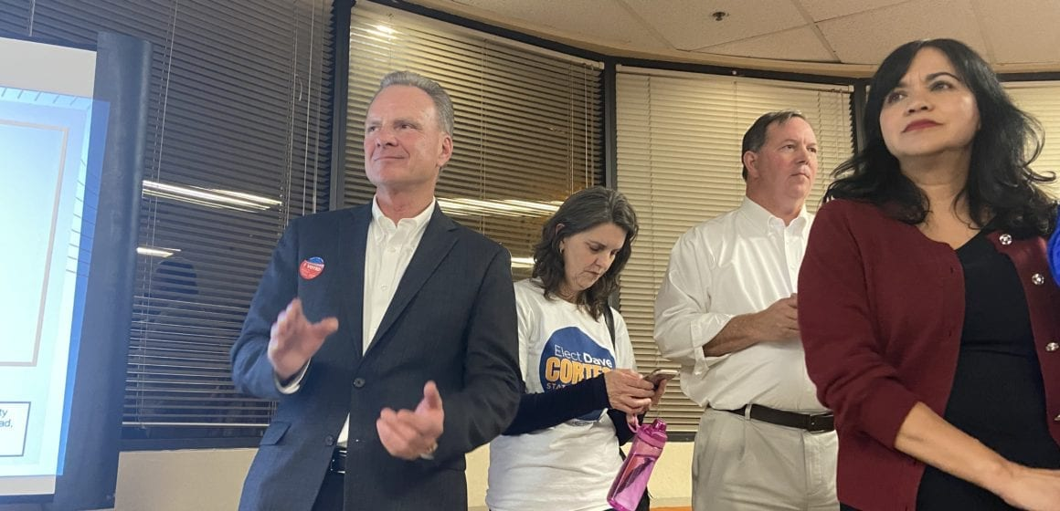 Cortese takes an early lead in Silicon Valley Senate District 15 race