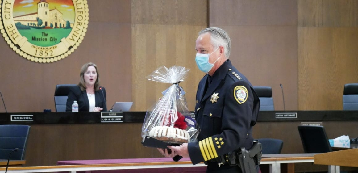 Update: Santa Clara expands small business program, swears in police chief