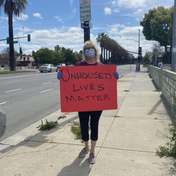 Homeless, advocates protest lack of protections in Silicon Valley shelters
