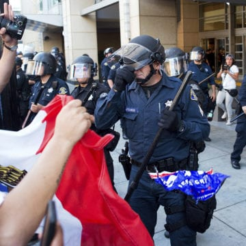 San Jose: Lawsuit over violent Donald Trump rally settled