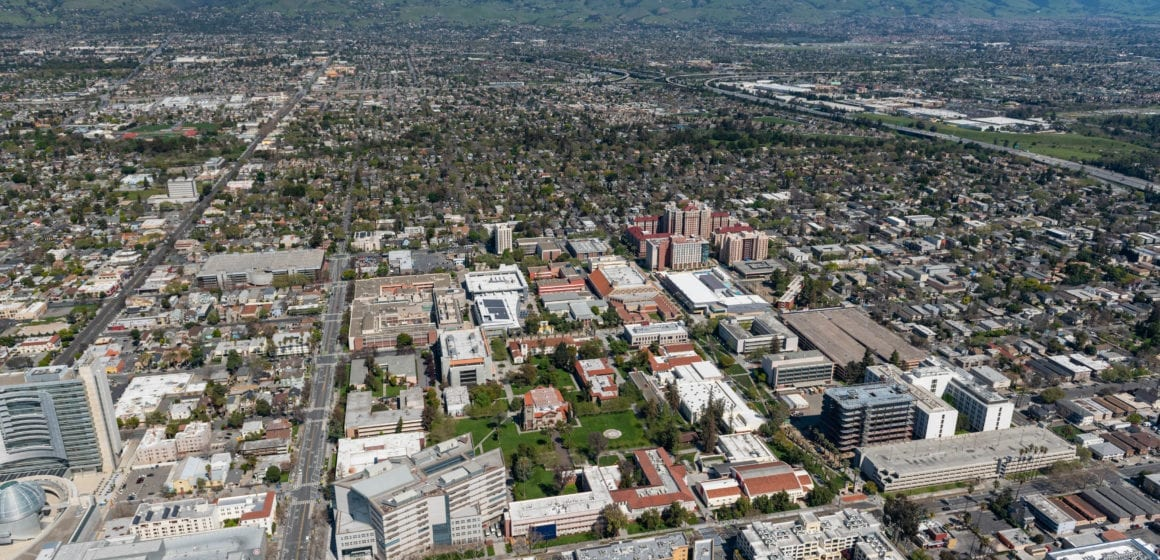 San Jose: Views from above during the COVID-19 outbreak