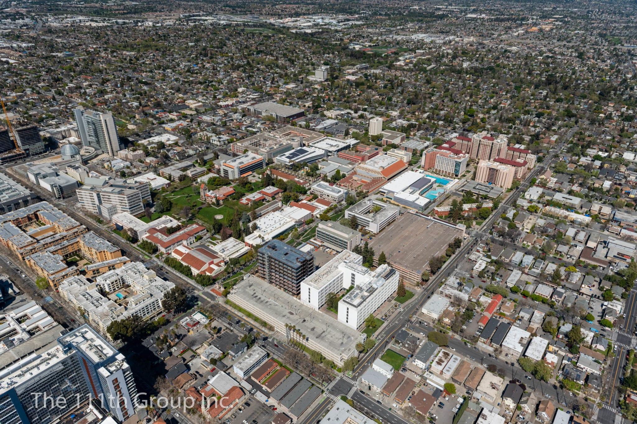 Vista aerea de San Jose