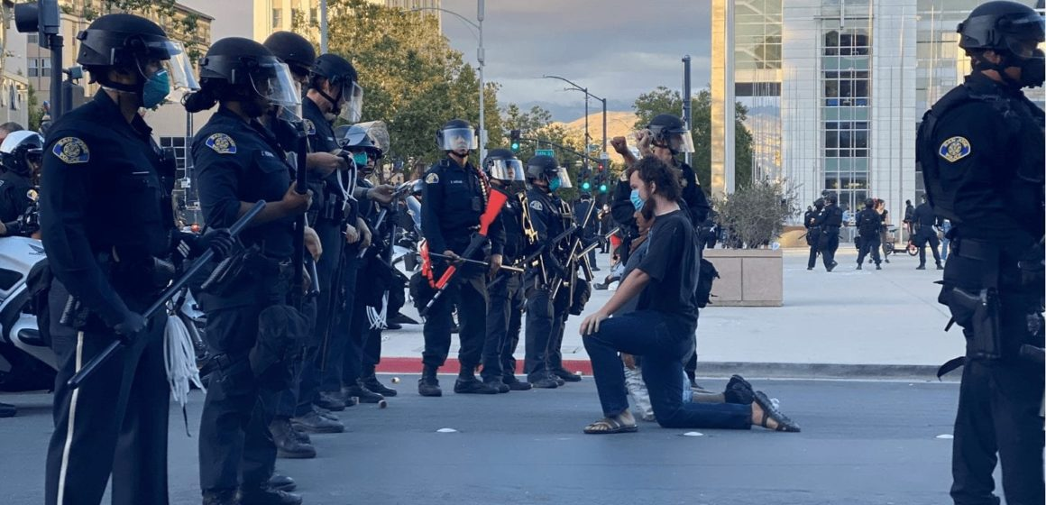 San Jose: More arrests mark second day of George Floyd protests