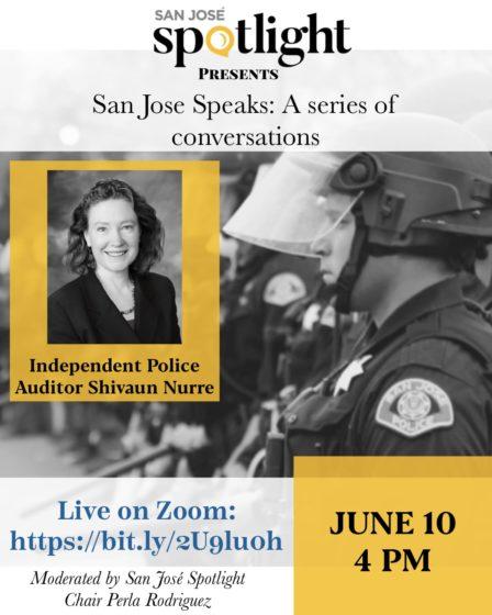 San Jose Speaks: A conversation with IPA Shivaun Nurre