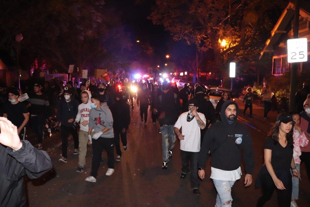 San Jose Impone Un Toque De Queda Cientos Protestan Por La Muerte De George Floyd Por Tercer Dia San Jose Spotlight