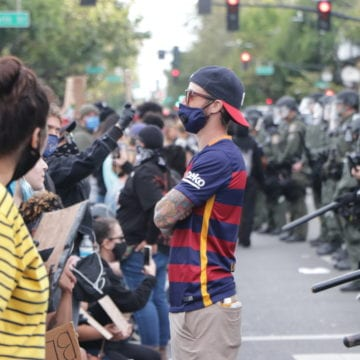 Racism and hypocrisy: San Jose activists react to police response to pro-Trump mob