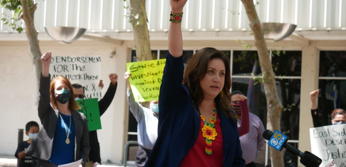 Alum Rock community demand answers after DA Jeff Rosen declines to charge contractor